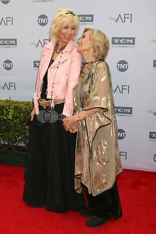 LOS ANGELES, CA - JUNE 9: Cloris Leachman at the American Film Institute 44th Life Achievement Award Gala Tribute to John Williams at the Dolby Theater on June 9, 2016 in Los Angeles, California. Credit: David Edwards/MediaPunch