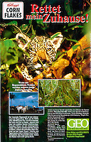 Kellogg's package, GEO Rainforest Campaign