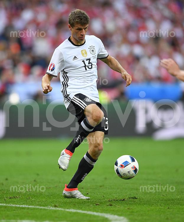 FUSSBALL EURO 2016 GRUPPE C IN PARIS Deutschland - Polen    16.06.2016 Thomas Mueller (Deutschland)