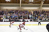 Bentley provided buses for its fans and sold out its allotment of tickets for the game, the first between the two teams. - The Harvard University Crimson defeated the visiting Bentley University Falcons 5-0 on Saturday, October 27, 2012, at Bright Hockey Center in Boston, Massachusetts.
