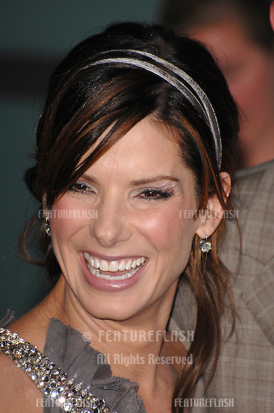 """Sandra Bullock at the world premiere of """"Premonition"""" at the Cinerama Dome, Hollywood. .March 13, 2007  Los Angeles, CA.Picture: Paul Smith / Featureflash"""