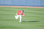 Ole Miss' Will Jamison (4) makes a catch vs. Rhode Island at Oxford-University Stadium in Oxford, Miss. on Sunday, February 24, 2013. Ole Miss won 5-3 to improve to 7-0.