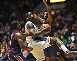 "Ole Miss' Murphy Holloway (31) vs. Auburn at the C.M. ""Tad"" Smith Coliseum on Saturday, February 23, 2013.  (AP Photo/Oxford Eagle, Bruce Newman)"