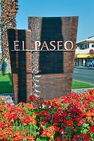 El Paseo Drive, Palm Desert, CA, Art, Sign, Sculpture, Sculptures, statue, Public Art, Statues. CA; California;
