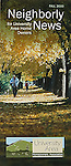 Nelson Kenter photo of a neighborhood scene in fall colors used on a brochure
