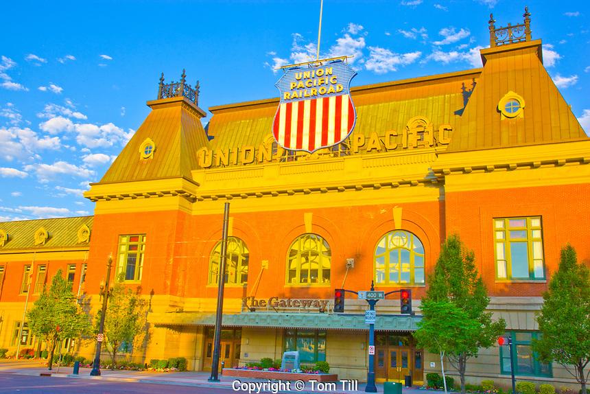 Rio Grande Station, Salt Lake City, Utah, Sunrise, June 2010