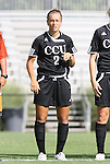 24 August 2008: Carolina's Anna Tupy. The Duke University Blue Devils defeated the Coastal Carolina University Lady Chanticleers 9-0 at Koskinen Stadium in Durham, North Carolina in an NCAA Division I Women's college soccer game.