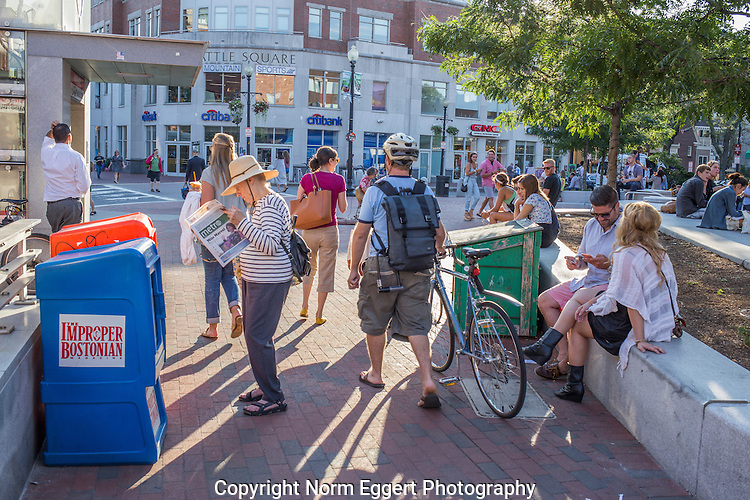 Everybody is doing something in Harvard Square