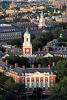 aerial view Eliot House, Harvard University, Cambridge, MA