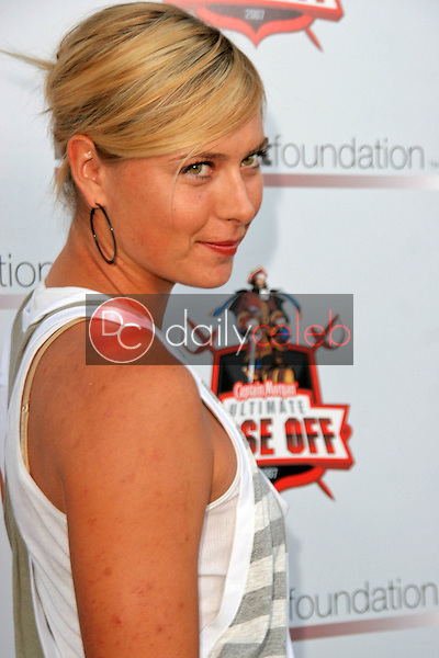 Maria Sharapova<br />at the First Annual Celebrity Bowling Night to Benefit the Newly Launched Matt Leinart Foundation. Lucky Strike Lanes, Hollywood, CA. 07-12-07<br />Dave Edwards/DailyCeleb.com 818-249-4998