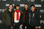 Cast of Looking :Arrivals for REVOLT presents an exclusive performance by recording artist Drake Held at Time Warner Studios During Super Bowl Weekend 2014