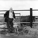 Len Nixey,  86 years old,  has kept cattle on the meadow since 1947 when he left the army.  He was in the battle of Monte Casino and out of a regiment of1000 soldiers he was 1 of 7 that survived.<br />