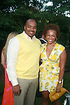 Mark Smith and Kirby Bumpus Attend Russell Simmons' 12th Annual Art for Life East Hampton Benefit, NY 7/30/11