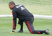 Dida of AC Milan during a practice session at RFK practice facility in Washington DC on May 24 2010.