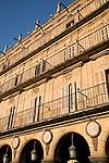 Plaza Mayor, Main Square, Salamanca, Castile and Leon, Spain