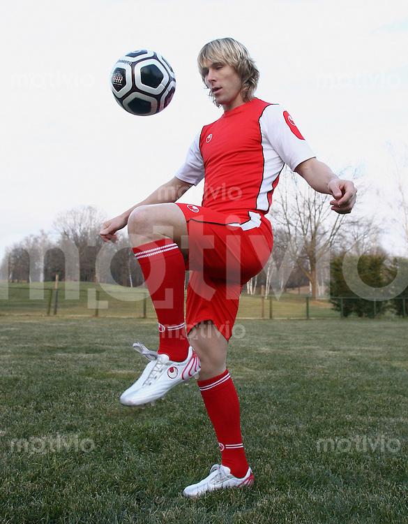 Fussball International Uhlsport Foto-Shooting Pavel Nedved