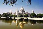 The Victoria Memorial in Kolkata, India