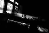 Wroclaw 02.02.2007 Poland.<br /> Ania Smolarek, 16, in her room at chemotherapy department.<br /> Clinical Hospital, oncology and haematology departmend. This is one of the important Haematologic Hospital in all over Poland, however hospital board stopped to discharge a rising debt. In this connection authorities must close hospital, but goverment had no idea what should do with terminaly ill children.<br /> (Photo: Adam Lach / Napo Images)<br /> <br /> Ania Smolarek ( 16 ) w swojej sali na oddziale chemioterapii.<br /> Akedemicki Szpital Kliniczny, oddzial onkologii i hematologii. Temu jednemu z najwazniejszych w Polsce osrodkowi szpitalnemu grozi zamkniecie w powodu dlugow, ktore niezaleznie od wplat NFZ-tu regularnie sciaga komornik. Z calej Polski ludzie charytatywnie wplacaja pieniadze by uratowac szpital i los dzieci dla ktorych to miejsce jest jedynym ratunkiem.