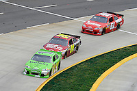 30 March - 1 April, 2012, Martinsville, Virginia USA.Jamie McMurray, Jeff Gordon, Kurt Busch.(c)2012, Scott LePage.LAT Photo USA