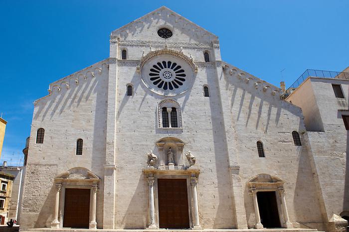 San Nicala cathedral, Bari, Puglia, Italy