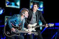Bon Jovi performing at Etihad Stadium, Melbourne, 7 December 2193
