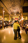 Tango at the milonga Confiteria Ideal