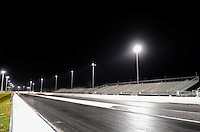 Jan. 16, 2012; Jupiter, FL, USA: Overall view of the dragstrip at Palm Beach International Raceway during testing at the PRO Winter Warmup. Mandatory Credit: Mark J. Rebilas-