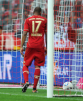 FUSSBALL   1. BUNDESLIGA  SAISON 2011/2012   1. Spieltag FC Bayern Muenchen - Borussia Moenchengladbach           07.08.2011 Enttaeuschung nach dem Tor zum 0:1 Jerome Boateng (FC Bayern Muenchen)