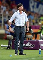 FUSSBALL  EUROPAMEISTERSCHAFT 2012   VORRUNDE Niederlande - Deutschland       13.06.2012 Trainer Joachim Loew (Deutschland)