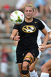 15 August 2014: Missouri's Jessica Herrman. The University of North Carolina Tar Heels hosted the University of Missouri Tigers at Fetzer Field in Chapel Hill, NC in a 2014 NCAA Division I Women's Soccer preseason match. Missouri won the exhibition 2-1.