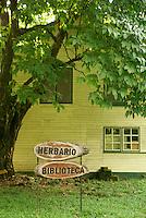 House of William Popenoe, Lancetilla Botanical Garden, Honduras. Lancetilla Garden was established by American botanist William Popenoe in 1926.