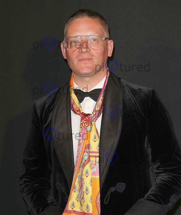 Giles Deacon Grey Goose Winter Ball to benefit the Elton John AIDS Foundation, Battersea Evolution, London, UK, 29 October 2011:  Contact: Rich@Piqtured.com +44(0)7941 079620 (Picture by Richard Goldschmidt)