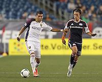 Real Salt Lake midfielder Javier Morales (11) dribbles.