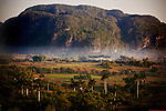 The tobacco growing region of Vinales, Cuba, on Monday, April 22, 2008.