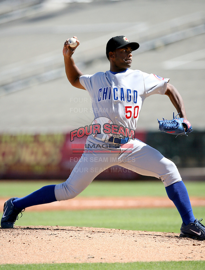 Esmailin Caridad / Mesa Solar Sox 2008 Arizona Fall League..Photo by:  Bill Mitchell/Four Seam Images