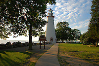 Marblehead Lighthouse Entrance