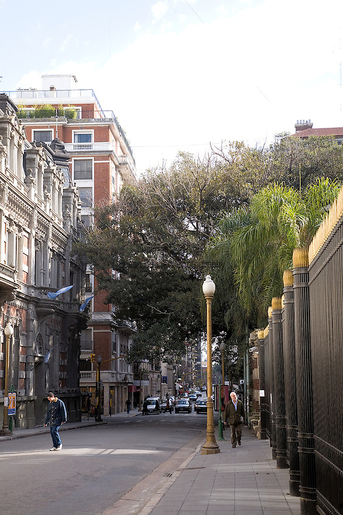 A street in the Recoleta district