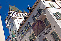 Bolzano, Bozen, South Tyrol. June 2007. The city of Bolzano is a mix of Tyrolian and Italian culture. South Tyrol used to be part of Austria until it became part of Italy after WWI. Photo by Frits Meyst/Adenture4ever.com