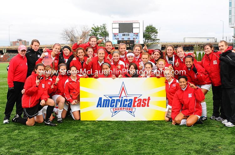 America East Women's Soccer Championship at BU.  BU defeats UMaine 4-0 to advance to the NCAA tournament.