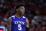 03 November 2016: Lynn's Malik Morrow. The North Carolina State University Wolfpack hosted the Lynn University Fighting Knights at PNC Arena in Raleigh, North Carolina in a 2016-17 NCAA Division I Men's Basketball exhibition game. NC State won the game 100-66.