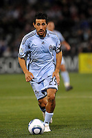 Pablo Mastronei...Kansas City Wizards defeated Colorado Rapids 1-0 at Community America Ballpark, Kansas City, Kansas.