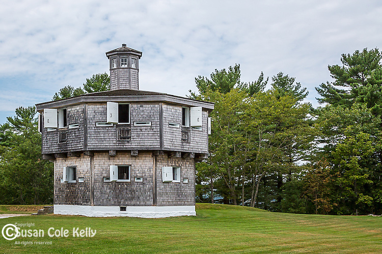 Fort Edgecomb in Edgecomb, Maine, USA