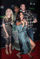 NEW YORK, NY-October 17:Johanna Braddy, Aunjanue Ellis, Jake McLaughlin,Priyanka Chopra at PaleyFest New York presents Quantico at the Paley Center for Media in New York.October 17, 2016. Credit:RW/MediaPunch