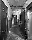 Plutonium storage area showing four separate vaults