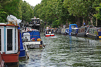 The canal known as Little Venice which runs through Maida Vale, North London<br /> <br /> <br /> Jeff Thomas Photography -  www.jaypics.photoshelter.com - <br /> e-mail swansea1001@hotmail.co.uk -<br /> Mob: 07837 386244 -