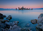 California, Lee Vining, Mono Lake. The Tufas of Mono Lake.