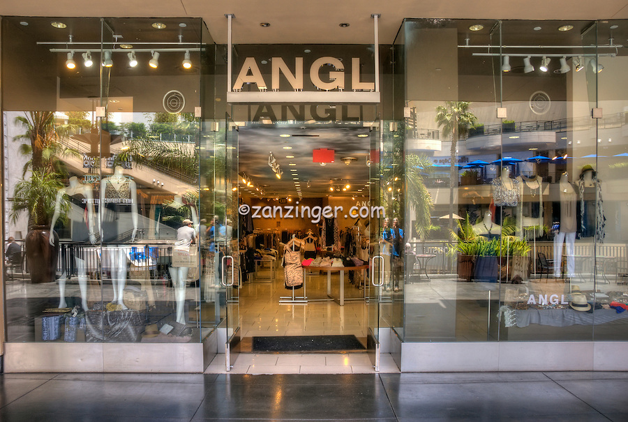 Women clothing stores. Angle clothing store