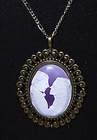 Hand made jewelry made from digital cameo.