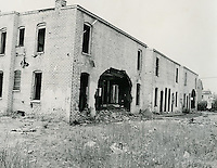 1969 May 20..Redevelopment...Bell-Diamond (A-1-3)..Middlesex Street houses (rear) from Fluvanna Street..Dennis Winston.NEG# DRW 69-21-28.NRHA#..