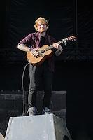 Ed Sheeran auf dem  Hurricane Festival 2014 am Eichenring Scheessel am 22.June 2014. Foto: Rüdiger Knuth